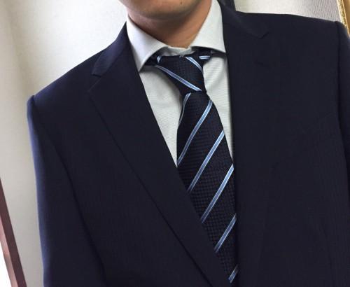 ネクタイ結び方b