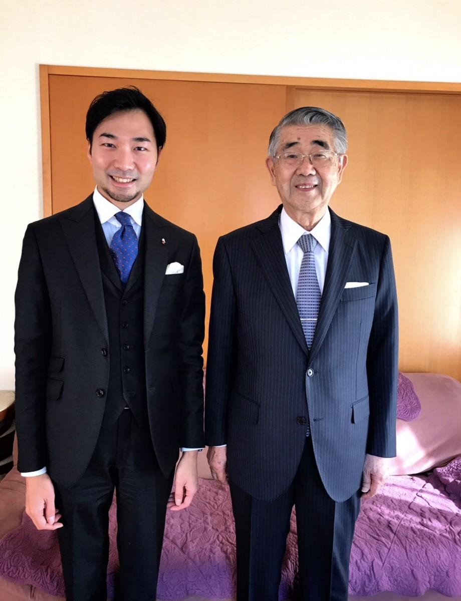 古川 貞二郎様 内閣官房副長官のオーダースーツ